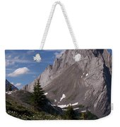 Shark Tooth Mountain Weekender Tote Bag