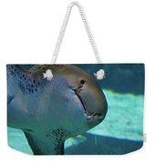 Shark View Weekender Tote Bag
