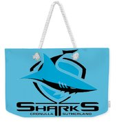 Sharks Cronulla Sutherland Weekender Tote Bag