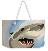 Sharky Grin Weekender Tote Bag