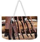 Sharp Rusty Objects Weekender Tote Bag