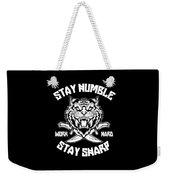 Sharp Tiger Weekender Tote Bag