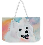 Shasta, A Prince Of A Dog Weekender Tote Bag