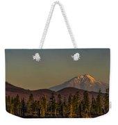 Mt Shasta From Hat Creek Weekender Tote Bag