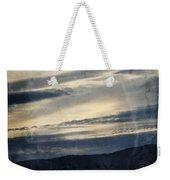 Shasta Trinity National Forest Sunrise Weekender Tote Bag