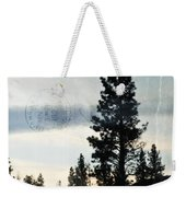 Shasta Trinity National Forest Sunrise Portrait Weekender Tote Bag