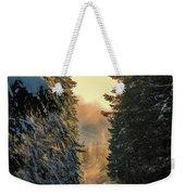 Shawnigan Winter Road Weekender Tote Bag