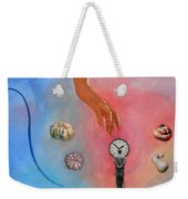 She Came From Above Weekender Tote Bag
