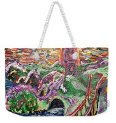 She Comes For The Seasons  Weekender Tote Bag