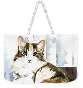 She Has Got The Look - Cat Portrait Weekender Tote Bag