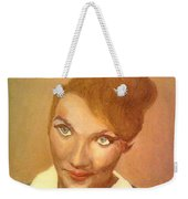 She Looks Determined Weekender Tote Bag