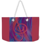 She Loves Me N G Clef Weekender Tote Bag