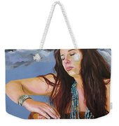She Paints With Stars Weekender Tote Bag