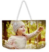 She Picked A Flower For You Weekender Tote Bag