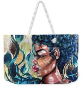 She Was A Cool Flame Weekender Tote Bag