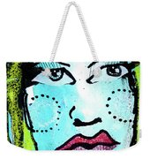 She Was A Handsome Woman Weekender Tote Bag
