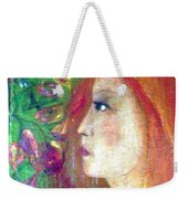 She Was Weekender Tote Bag