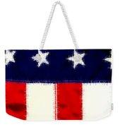 Shear Flag Weekender Tote Bag