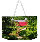 Sheards Mill Bridge - Nockamixon Pa Weekender Tote Bag