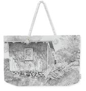 Shed In My Mothers Back Yard Weekender Tote Bag