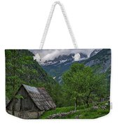 Shed In The Pass Weekender Tote Bag