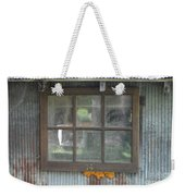 Shed Window Weekender Tote Bag