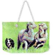 Sheep And Dog Weekender Tote Bag