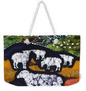 Sheep At Midnight Weekender Tote Bag