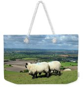 Sheep At Westbury Tor Weekender Tote Bag