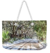 Sheep Farm - Snow Weekender Tote Bag