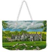 Sheep In Repose Weekender Tote Bag