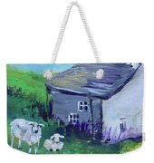 Sheep In Scotland  Weekender Tote Bag