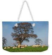 Sheep In Somerset Weekender Tote Bag