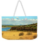 Sheep On The Hillside Weekender Tote Bag