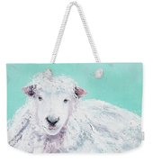 Sheep Painting - Jeremiah Weekender Tote Bag
