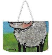 Sheep Poster Weekender Tote Bag