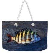 Sheepshead Fish Weekender Tote Bag