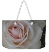 Sheer Bliss Rose Weekender Tote Bag
