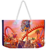 Sheikra Ride Poster 3 Weekender Tote Bag