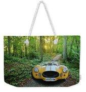 Shelby Ac Cobra In The Woods Weekender Tote Bag