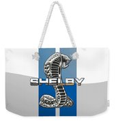 Shelby Cobra - 3d Badge Weekender Tote Bag