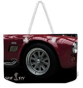 Shelby Cobra Sports Car Weekender Tote Bag