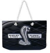 Shelby Gt 500 Super Snake Weekender Tote Bag