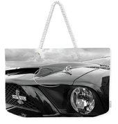 Shelby Super Snake Mustang Grille And Headlight Weekender Tote Bag