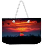 Shelby's Sunset Weekender Tote Bag