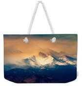 She'll Be Coming Around The Mountain Weekender Tote Bag