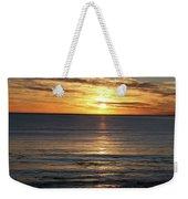 Shell Beach Sunset Weekender Tote Bag