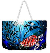 Shell Game Weekender Tote Bag