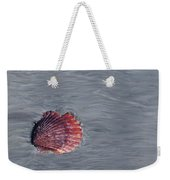 Shell Imprint Weekender Tote Bag