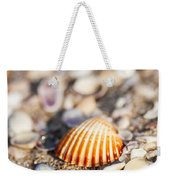 Shell On The Beach 3 Weekender Tote Bag